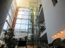 Панорамная шахта из сборных элементов под лифт «Шиндлер», г. Тверь, монтаж ООО «Лифттехника»
